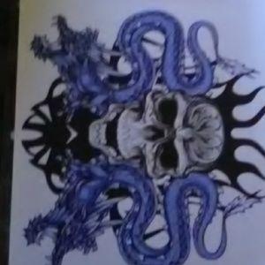 Watercoloer  drawing